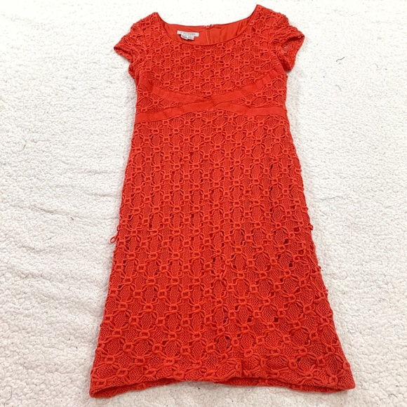 Kay Unger Dresses & Skirts - Kay Unger New York red cap sleeve lace dress
